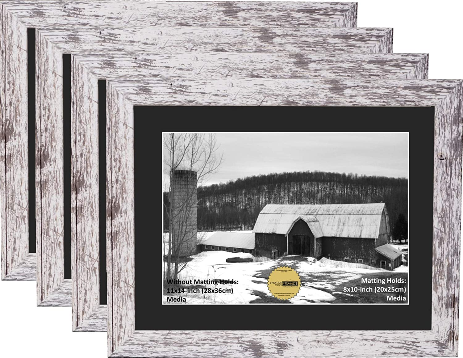 Creative Picture Frames 8x10 Opening 11x14-inch Black Our New color Mat 2021 model in