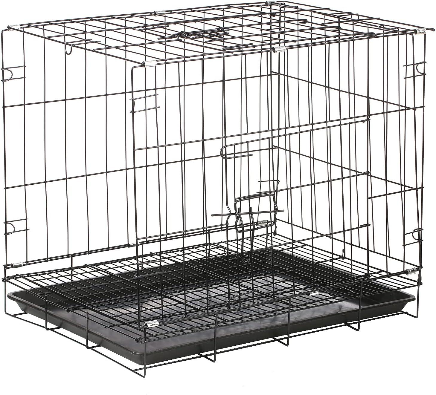 Pet Cage famous Foldable Cat Dog Pig Popularity Crate Bunn Folding Guinea