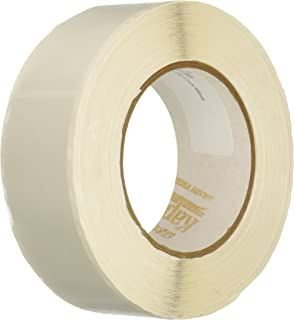 Kapco Vinyl Label Protectors, Round, 1-1/2 x 4 Inches, Clear, Pack of 500