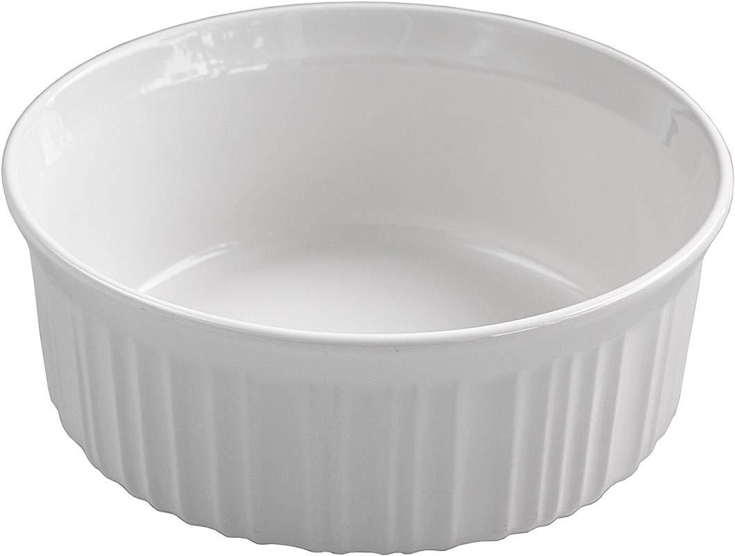 Corningware French White Round 1 5 Quart Baking Dish