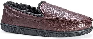 MUK LUKS Men's Moccasin-Brown Slip-On Loafer