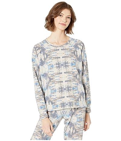 P.J. Salvage Tie-Dye Days Sweater (Oatmeal) Women