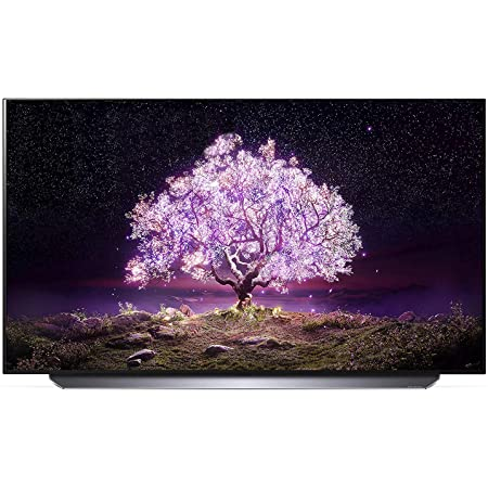 """LG OLED77C1PUB 77"""" 4K Ultra High Definition OLED Smart C1 Series TV with an Additional 1 Year Coverage by Epic Protect (2021)"""