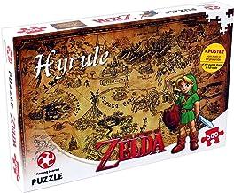 Legend of Zelda Hyrule Field 500 Piece Jigsaw Puzzle