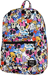 Disney Mickey Minnie Mouse Donald Duck Backpack Friends Print