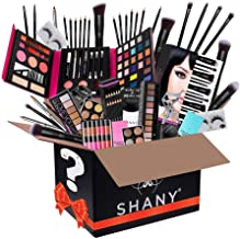 SHANY Gift Surprise - AMAZON EXCLUSIVE - All in One Makeup Bundle - Includes Pro Makeup Brush Set, Eyeshadow Palette,Makeu...
