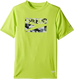 Sharkamo Boom Short Sleeve Swim Tee (Little Kids/Big Kids)