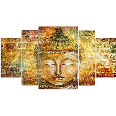 Bouddha Méditation Framed Canvas Print