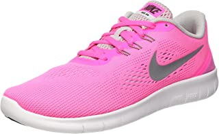 Nike Free RN GS Running Shoes Sneaker Pink/Gray/White
