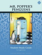 Mr. Popper's Penguins, Student Study Guide by Leigh Lowe (2010-03-05)