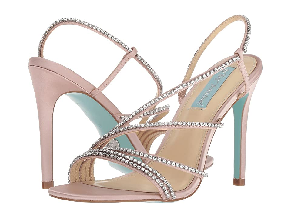 Blue by Betsey Johnson Aces (Nude Satin) High Heels