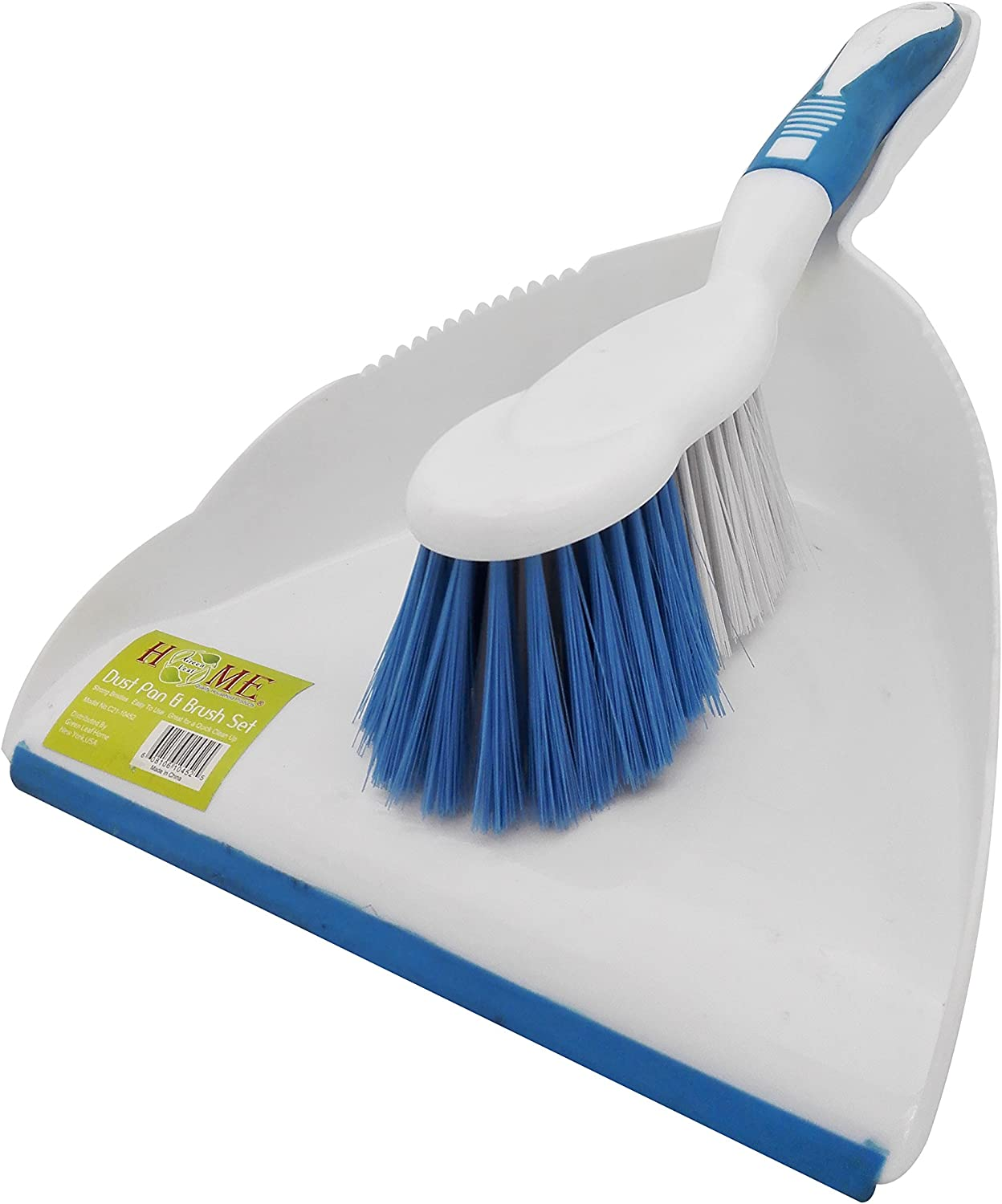 UNIWARE C21-10452 Dust pan and Broom Set Max 79% OFF x trust 9 White in 13 Sturdy