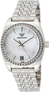 Emporio Armani Women's Quartz Watch AR0379 with Metal Strap