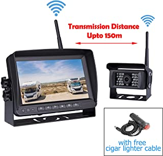 Car Digital Wireless Backup System for Truck RV Camper Vans Trailer, 7