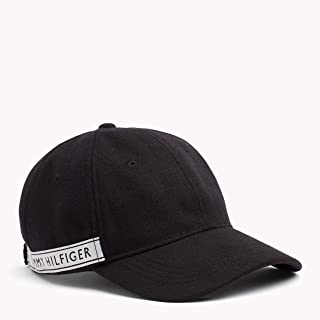 Tommy Hilfiger Women's Logo Tape Cap, Black