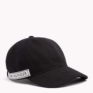 Tommy Hilfiger Women's Logo Tape Cap, Black
