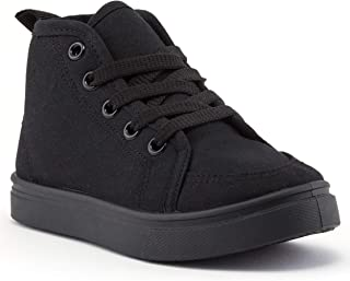 Girls and Boys High Top Sneakers, Kids Basketball Shoes for Toddlers