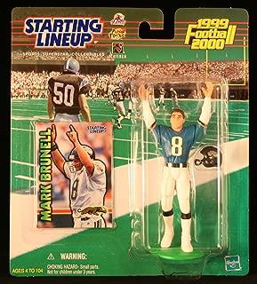 Starting Lineup Mark BRUNELL / Jacksonville Jaguars 1999-2000 NFL Action Figure & Exclusive NFL Collector Trading Card
