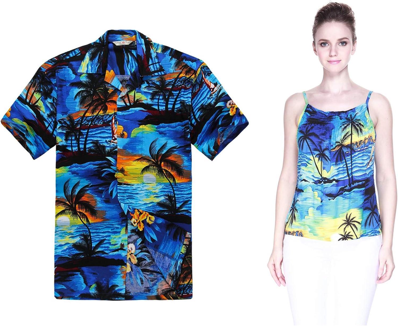 Couple Matching Hawaiian Luau Japan Maker New Outfit Shirt Ranking TOP17 Aloha S and Spaghetti