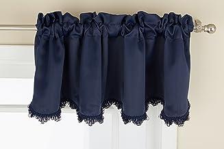 ستارة United Curtain Blackstone قصيرة ، 54 × 15 ، أزرق داكن