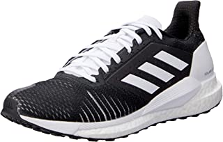 adidas Australia Women's Solar Glide ST Running Shoes, Core Black/Core Black/Footwear White