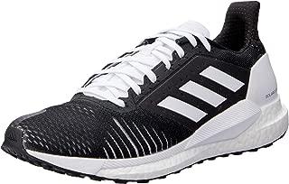 adidas Australia Women's Solar Glide ST Running Shoes, Core Black/Core Black/Footwear White