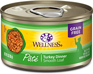 Wellness Complete Health Natural Grain Free Wet Canned Cat Food Pate Recipe Turkey Pate