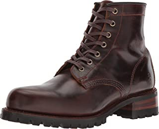 FRYE حذاء Addison Lug رجالي برباط حتى الكاحل