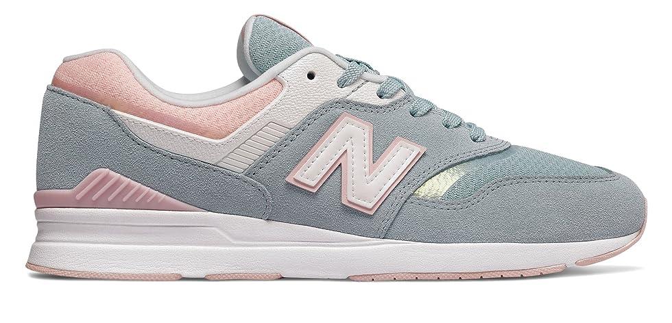 打たれたトラックジョリーカップ(ニューバランス) New Balance 靴?シューズ レディースライフスタイル 697 Storm Blue ブルー US 7 (24cm)