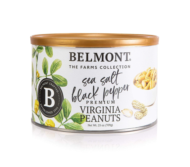 Belmont Product Peanuts Sea Salt and 25oz Miami Mall Black Pepper Virginia