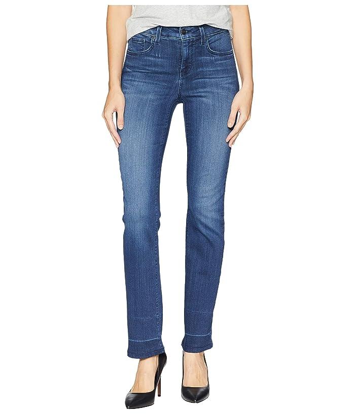 NYDJ Marilyn Wide Release Clean Hem in Thunderbird (Thunderbird) Women's Jeans