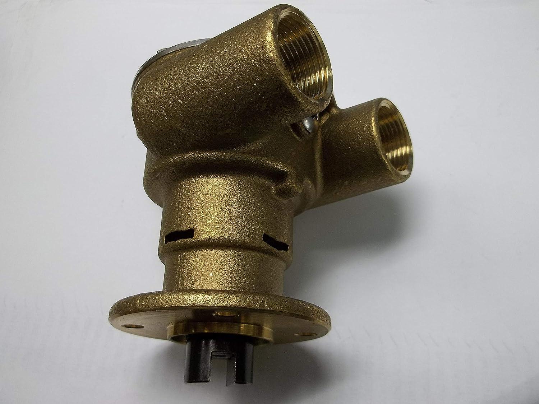 UNKDJ Engine Cooling Impeller SEA Water RAW Pump Replaces 32700001 Perkins 35615 4107 4108 Jabsco 3270200