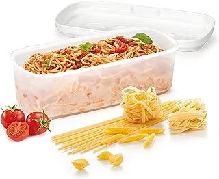 Tescoma Cuece Pasta Purity Microwave, Blanco, 33.30x14.4x10.5 cm