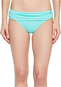Island Goddess Shirred Waist Hipster Bottom