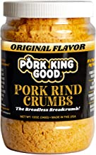 Pork King Good Low Carb Keto Diet Pork Rind Breadcrumbs! Perfect For Ketogenic, Paleo, Gluten-Free, Sugar Free and Bariatr...