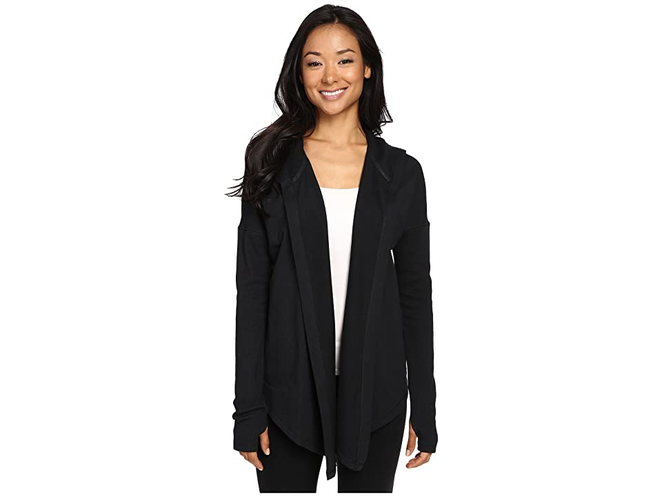 Under Armour UA Modern Terry Open Front Cardigan (Black/Gray Area) Women