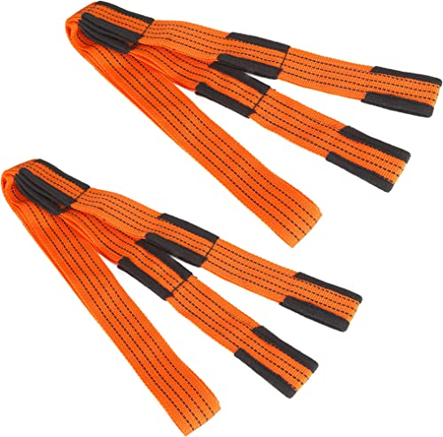 """2021 Cartman Lifting and Moving online Straps for Furniture, Appliances, Mattresses or Heavy Objects high quality up to 800 Pounds, 2"""" 9.5Feet 1 Pair outlet sale"""