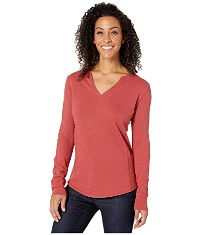 Royal Robbins Mountain Henley (Brick Red) Women