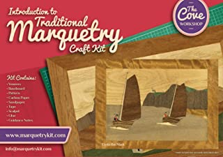 Up to the Mark: Traditional beginner Marquetry Craft Kit by Cove Workshop