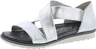 Remonte R2755 Femme Sandale à lanières,Chaussures d'été,Confortable,Plat