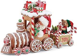 Department 56 Possible Dream Santas Christmas Traditions Gingerbread Train Figurine, 10.5