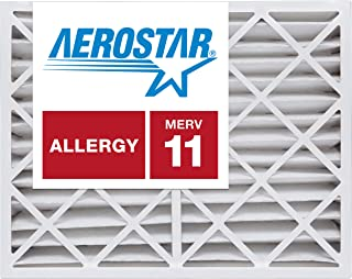 Best Aerostar 12x16x4 MERV 11, Pleated Air Filter, 12 x 16 x 4, Box of 6, Made in The USA Review