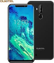 "$89 » OUKITEL C12 Android 8.1 Unlocked Cell Phones, 6.18"" 18:9 Full-Screen Display 3300mAh Battery Global 3G Android Smartphones Unlocked, Dual SIM Mobile Phone 2GB+16GB Fingerprint & Face Unlock-Black"