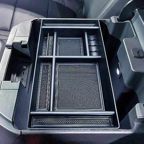 MASO Organiseur Central pour Console Centrale pour Ford F150 2015 2016 2017