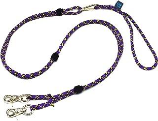 ドッグ・ギア ザイルリードタイプW ロープ径6mm 全長130cm パープル 「大切な愛犬を迷子犬にしないためのリードです」