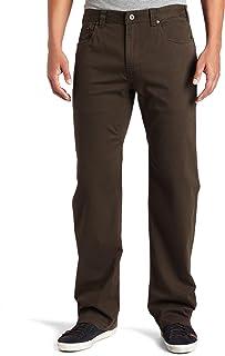 prAna Men's Bronson Pant, 38W, x, 34L,Brown