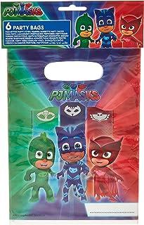 Procos 5PR88637 6Party Bags Pj Masks Entertainment One, multicolor