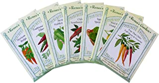 Spicy Hot Chile Pepper Garden Seeds Collection - 8 Seed Packets - Tibetan Lhasa, Suave Habanero, Thai Chile Duo, Padron Spanish Tapas & More - by Renee's Garden