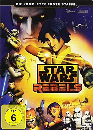 Star Wars Rebels - Die komplette erste Staffel [3 DVDs]