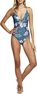 Seafolly Women's Halter One Piece Swimsuit with Cross Back